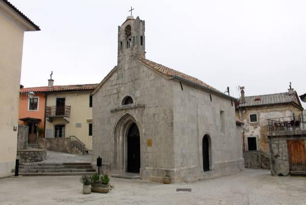 Galerijski prostor crkvice sv. Trojice
